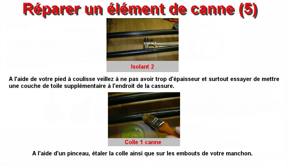 Réparer un élément de canne (5)