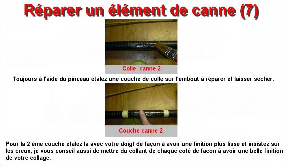 Réparer un élément de canne (7)