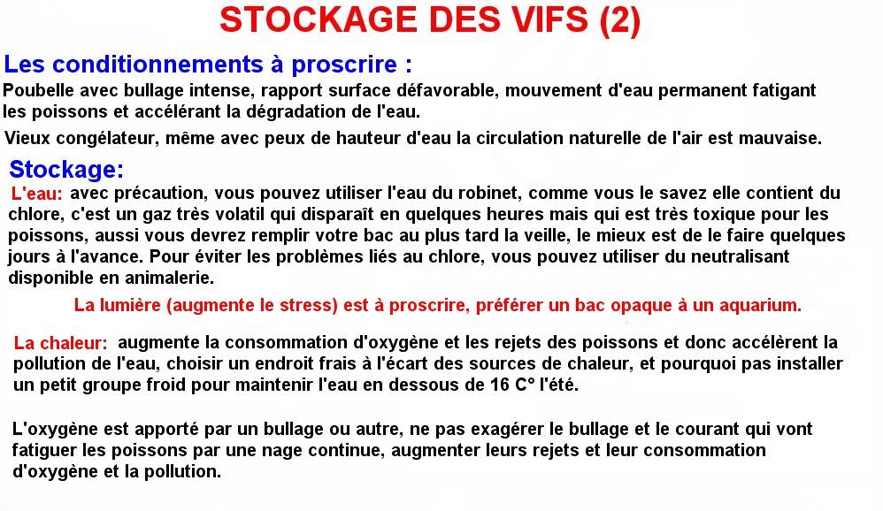 STOCKAGE DES VIFS (2)