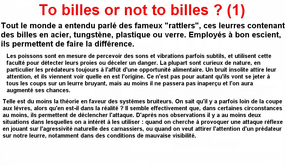To billes or not to billes (1)