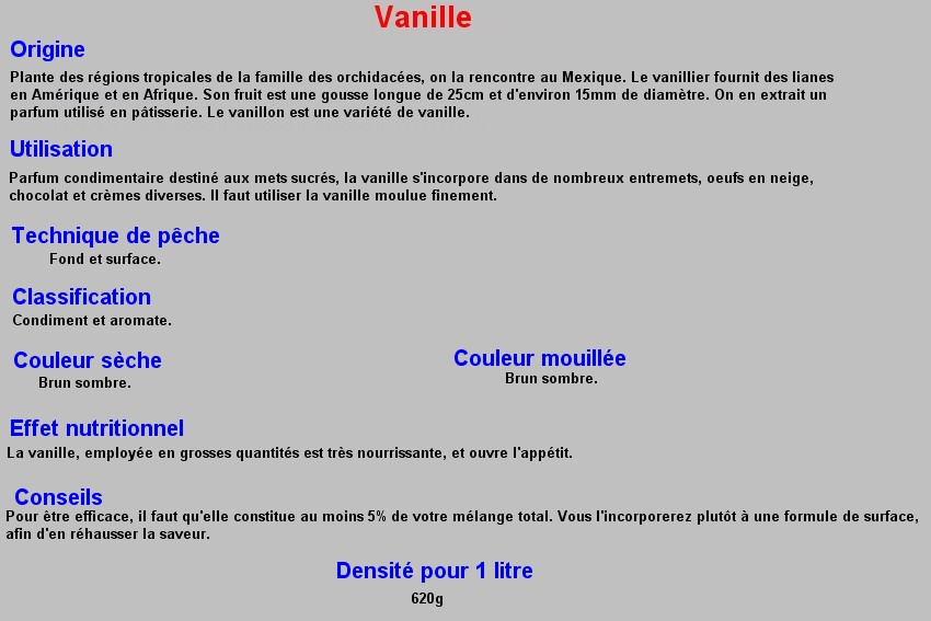 VANILLE 39